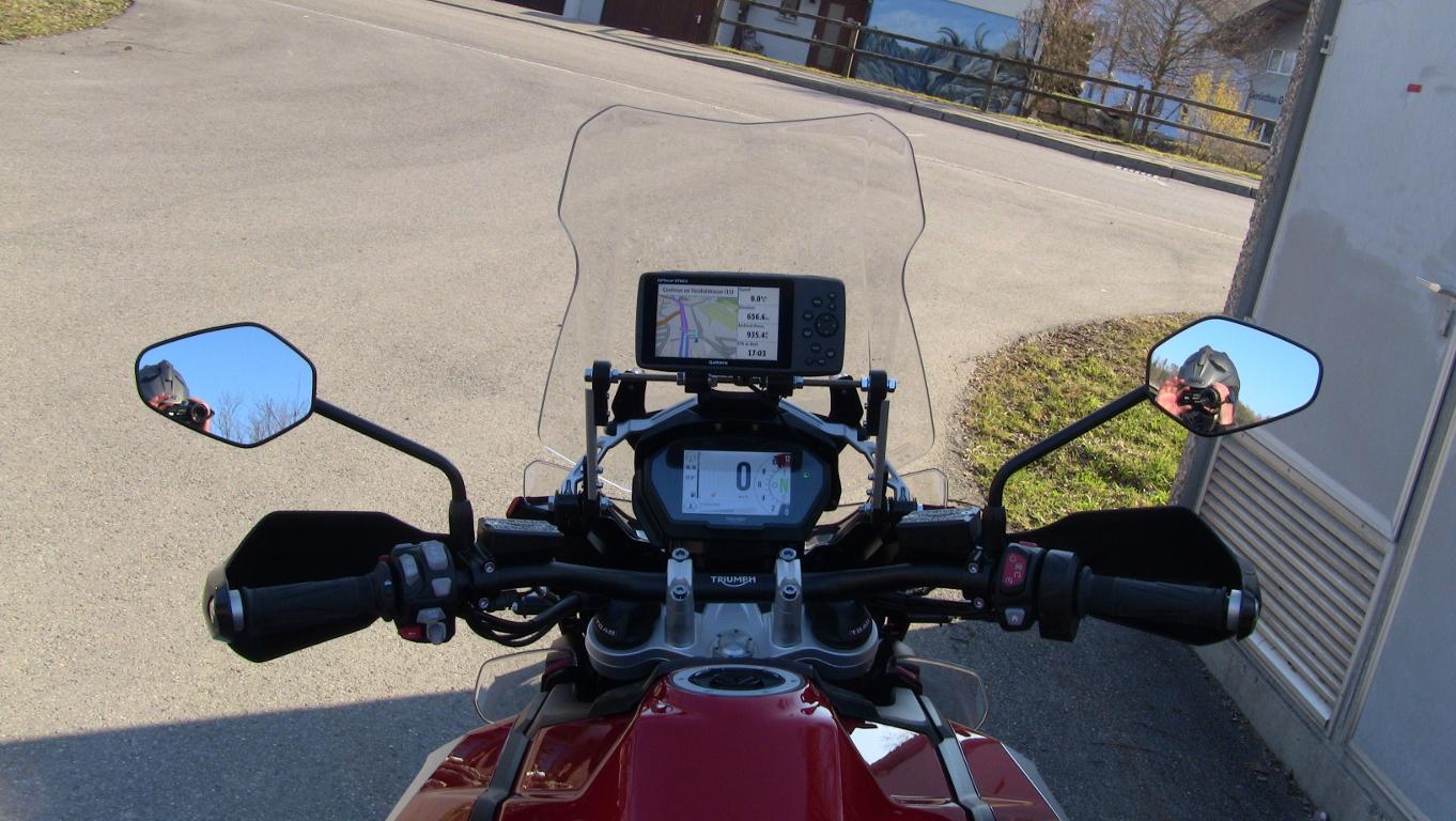 Triumph Tiger 800 2018 >> 2018 Tiger 1200 GPS mount - Triumph Forum: Triumph Rat Motorcycle Forums